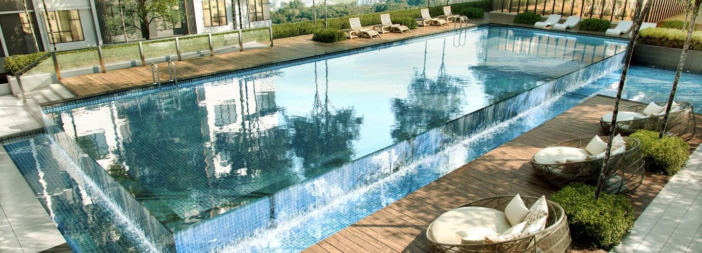 Embayu Residence Damansara West Swimming Pool