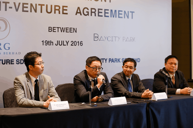 PRG Holdings & Premier Baycity Joint Venture Signing Ceremony