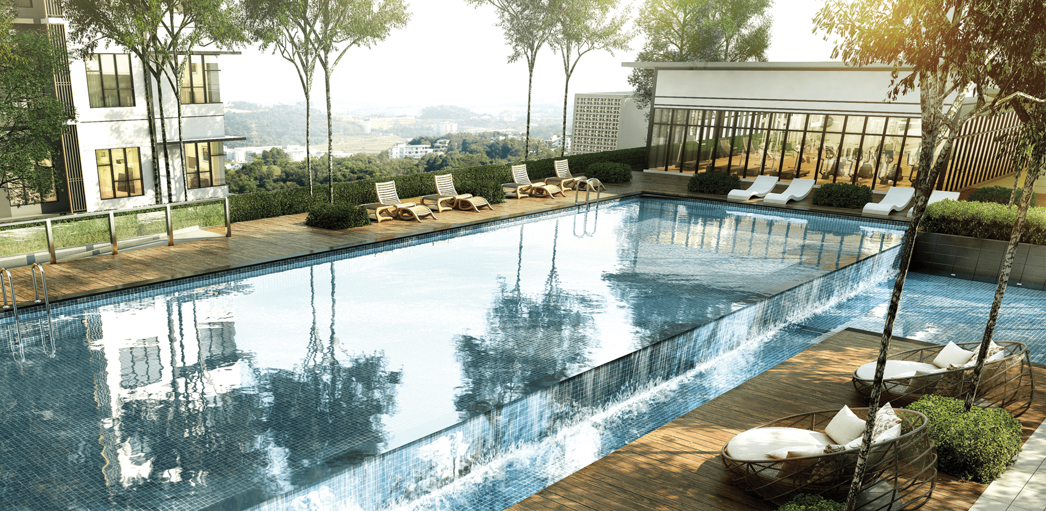 Embayu Residence Damansara West Swimming Pool
